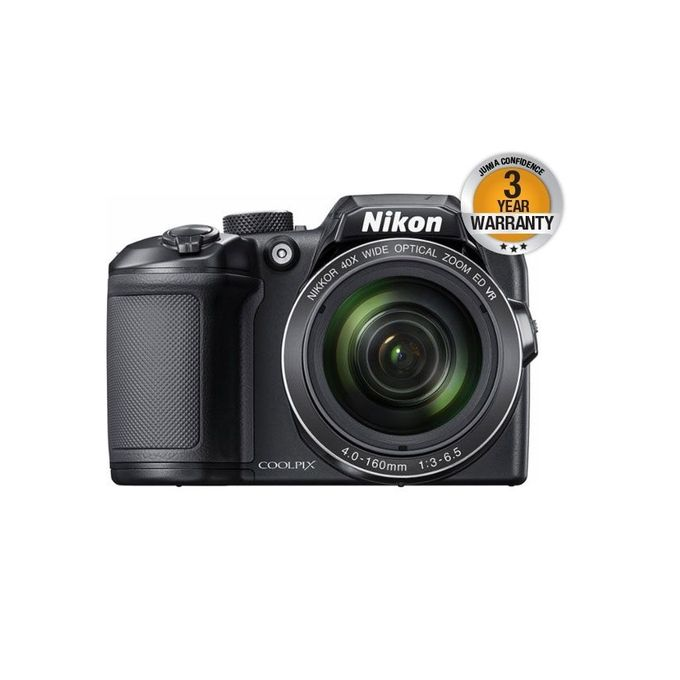 Coolpix Bridge B500 - 16MP - 40X Optical Zoom - Compact Camera - Black
