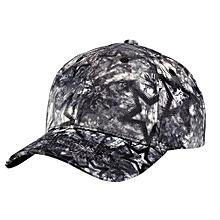 Unisex Fashion Star Pattern Bend Eaves Baseball Cap Hip-hop Hat For Camping Traveling  Color:black Specification:adjustable