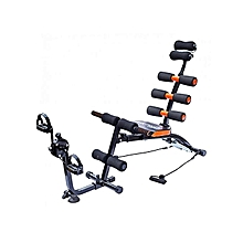Multifunction Abdominal Six Pack Care Bench With Pedals