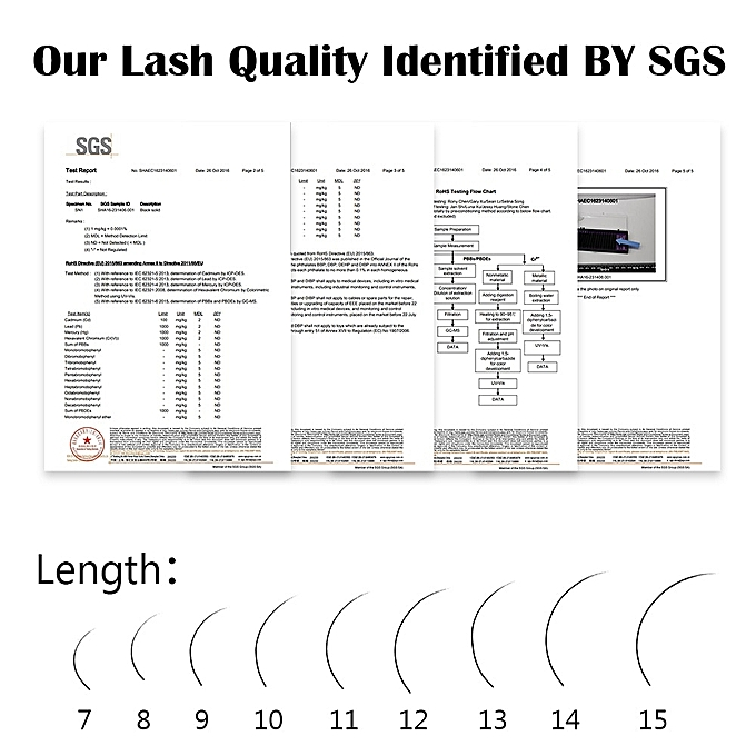 452821c5c75 ... NAGARAKU 10 cases/lot High quality mink eyelash extension individual  eyelashes natural eyelashes make up ...