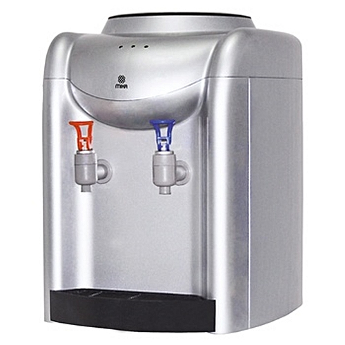 Water Dispenser White/Silver Table Top Hot & Normal