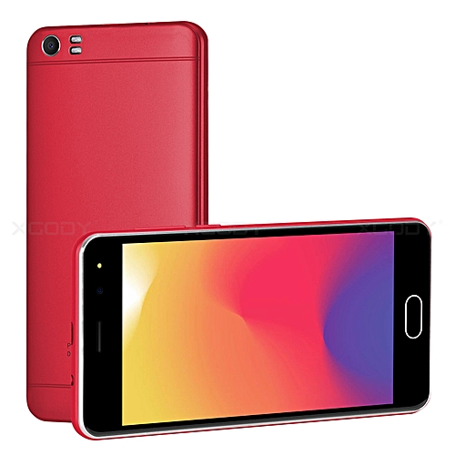 """5"""" un-locked Smartphone New AT&T T-Mobile Straight Talk Android Cell Phone-red"""