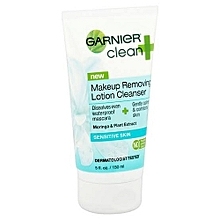Garnier makeup removing lotion cleanser- Sensitive skin