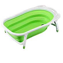 Newborn-to-Toddler Portable Folding Bath Tub / Basin - Green