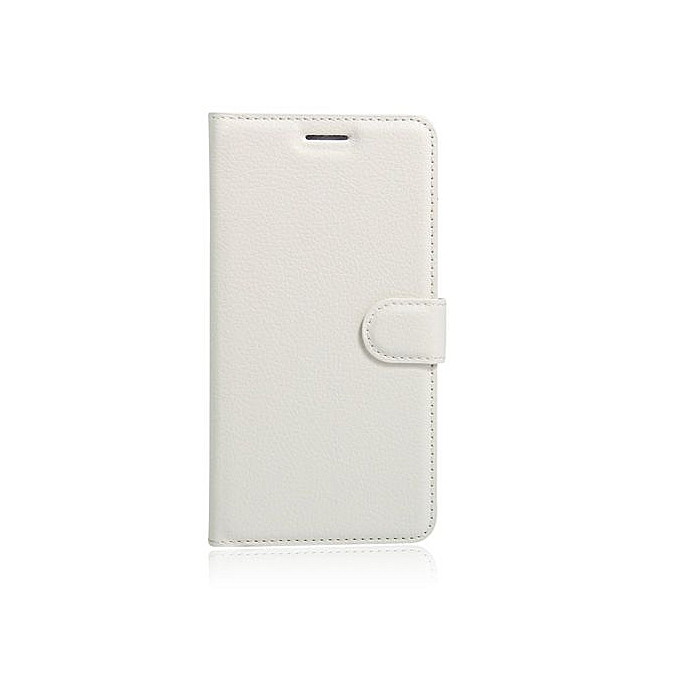 Buy Generic PU Leather Wallet Card Slot Case Cover For Asus ZenFone GO ZC500TG (White