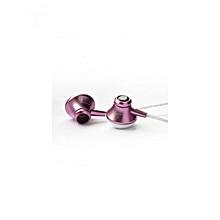 In-Ear Wired Earphones - Pink