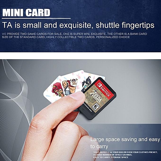 22 PCS Zelda NFC Mini Cards Link Botw SSB 20 Heart Wolf Reveli Mint Cranes  Urbosa for The Legend of Zelda Breath of The Wild NS Switch