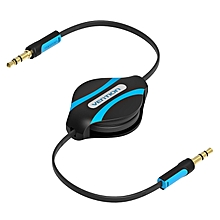 Vention BEABF 1M Retractable 3.5mm Jack to Jack Audio Cable Car Stereo Aux Cable For Headphone