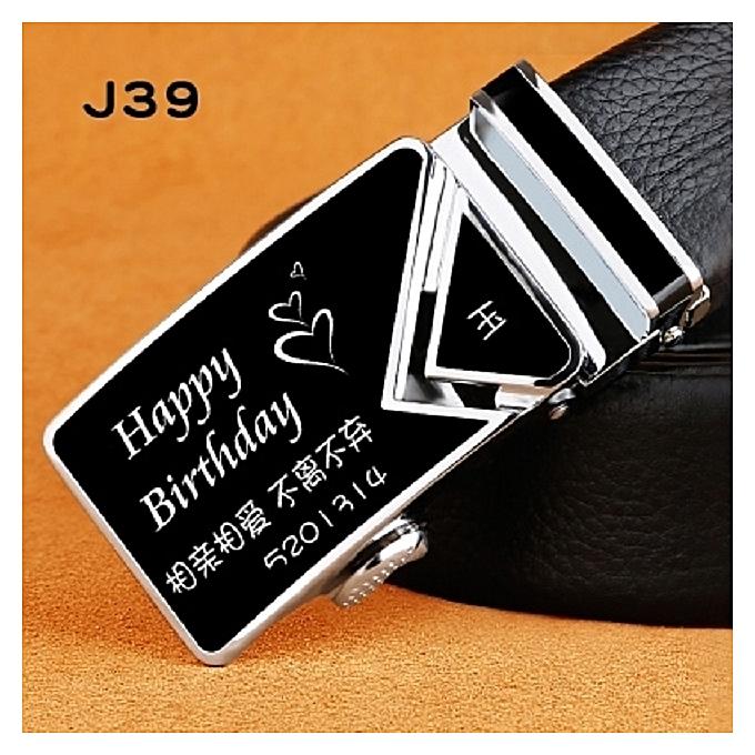 Buy Fashion Mitsubishi Belt Custom Lettering Gift Box