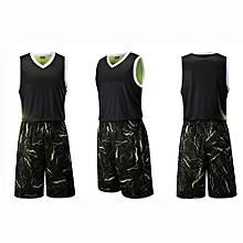 Fashion Customized Men's Basketball Team Sports Uniform-Green(3018)