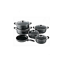 Seemann Seemann 11Pcs Non-Stick Pots And Pan