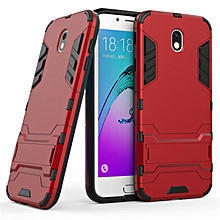 2 in 1 Dual Layer Protection Hybrid Rugged Shockproof Case Full Body Protector Cover Hard Shell Cover with Kickstand for Samsung Galaxy J7 Pro   XXZ-Z