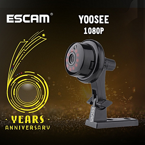Escam Q6 2 0M 1080P Button Mini Wireless Camera Support Android IOS PC View  Motion Detector and Email Alarm up to YOOSEE APP(32G )
