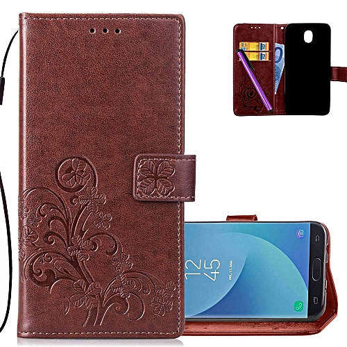 9a08022a9ed Generic J5 Pro 2017(EU Version) case Embossed Floral Card Slots Magnetic  Flip Stand Shockproof PU Leather Wallet Slim Protect Cover for Samsung  Galaxy J5 ...