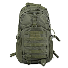 BL021 Outdoor Military Bag Camping Hiking Climbing Backpack - Army Green