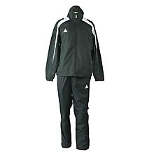 Track Suit Woven Micro Black/White- Ek12black/White- Xl