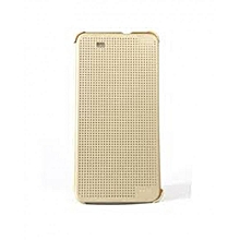 Desire 728 - Dot View Touch Sense Case - Gold