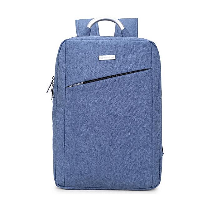 27b4bca7b40f 15inch Laptop Nylon Aluminum Alloy Handle Men Backpack Business Travel  Backpack