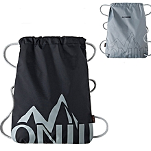 AONIJIE Sports Drawstring Bag Climbing Travel Soft Back Fitness Gym Backpack Pouch