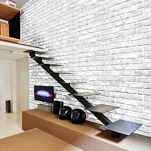 Generic 3d Brick Stone Rustic Effect Self Adhesive Wall Sticker Home