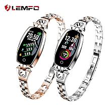 Enjoy H8 Smart Watch Women 2018 Waterproof Heart Rate Monitoring Bluetooth For Android IOS Fitness Bracelet Smartwatch