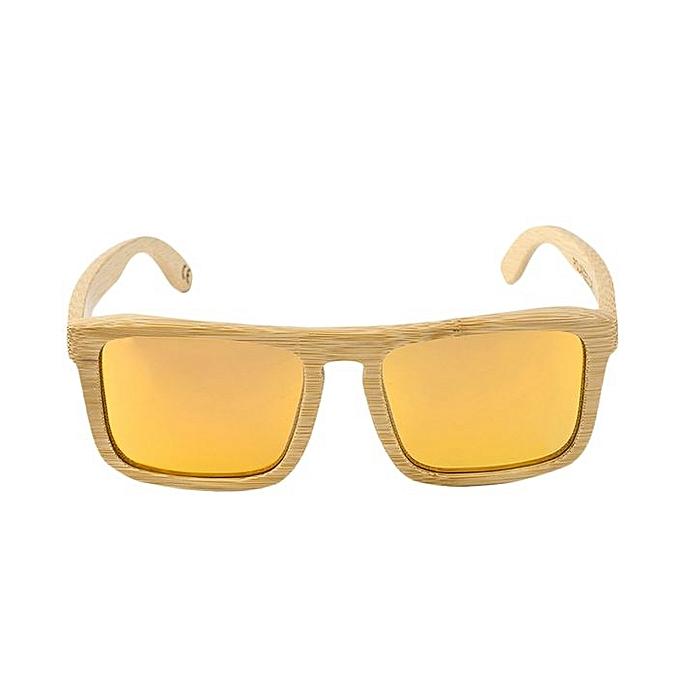 Buy Fashion Sookie UV 400 Protecting Man Woman Bamboo Frame Eyewear ...