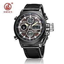 Luxury OHSEN Military Sport Watch Digital Canvas Strap Men's Watch High Quality Wristwatch Relogio Masculino Relojes Hombre