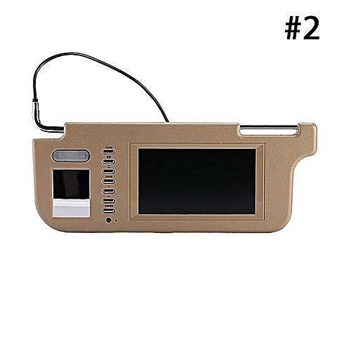 Generic Car Sun Visor Monitor Car DVD Monitor Universal 7