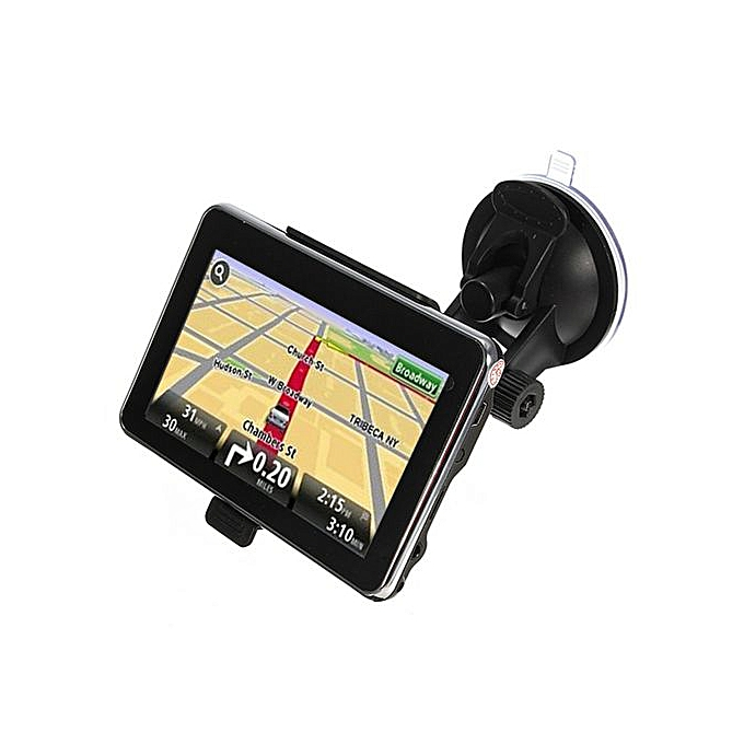 4GB 5'' TFT Touch Screen Auto Car GPS Navigation SAT NAV FM Free Map Update  MP3 America