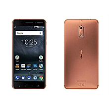 6 - 32GB, 3GB RAM - Camera 16MP - Dual SIM - Copper