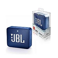 Go 2 Portable Bluetooth Waterproof Speaker-Blue