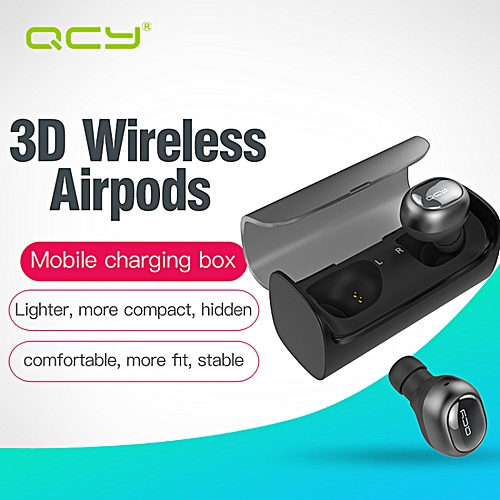 QCY Q29 BLUETOOTH EARPHONES MINI WIRELESS STEREO HEADSET WITH CHARGING BOX WWD
