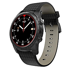 KINCO MT6580m 16GB+2GB SIM AMOLED GPS WIFI Call Smart Phone Watch Heart Rate Monitor Waterproof Sport Bracelet For IOS/Android Grey