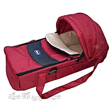 Baby Carry Cot - red