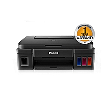 PIXMA G3400 - Inket Photo Printer - Black + Twin Value Pack (Black)