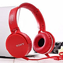 MDR-XB950AP - Extra Bass Headphones - RED