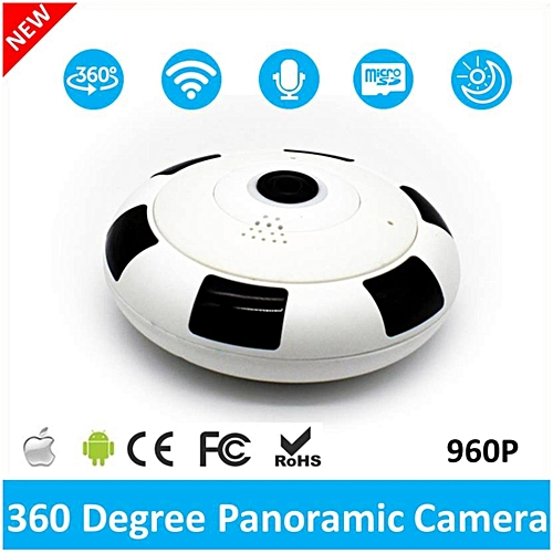 2017 Newest Mini Wireless 360 Degree 960P Panoramic WIFI IP Security Camera  Fisheye with IR Night Vision TXSHOP