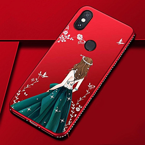 b28c743a54 Generic For Redmi Note 5 Pro Case Goddess Beauty Girl Silhouette Diamond  Coloured Drawing Back Cover Secret Garden Glitter Fashion TPU Silicone  Phone Case ...