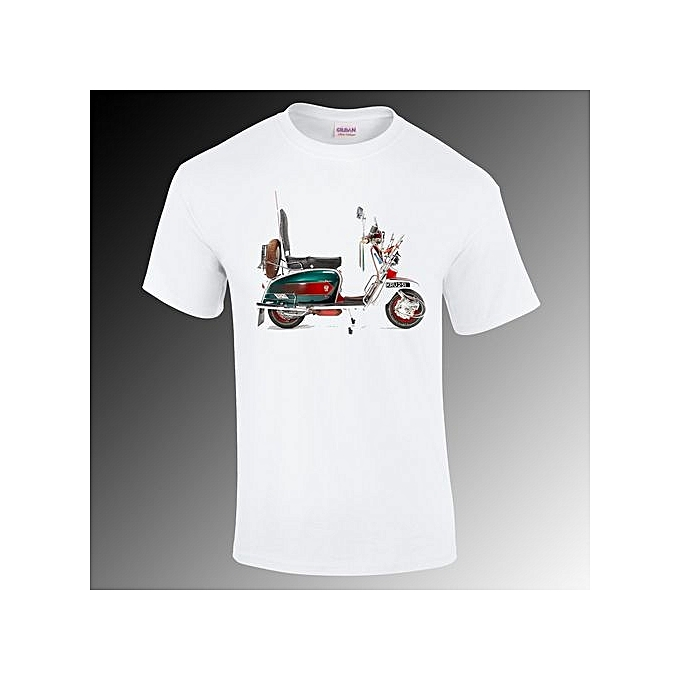 71c4ddce5843 Fashion Vespa T-shirt Scooter Gift Funny S-4XL @ Best Price Online ...