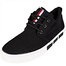 Black Casual Laced Shoes