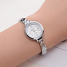 Lvpai Women Watch Crystal Diamond Bracelet Stainless Steel Quartz Wrist Watch D