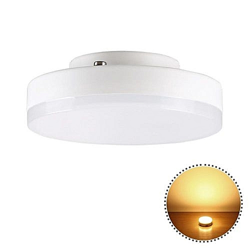 buy ywxlight gx53 7w mini round lights super bright led ceiling lamp ac 220 240v warm white. Black Bedroom Furniture Sets. Home Design Ideas