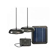 40977 - Solar Lantern Life light Home - Grey