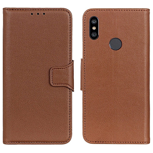 finest selection f24d6 b9e9d Redmi Note 6 Pro Case,Litchi Skin PU Leather [Wallet Flip Cover] [Card  Holder] Stand Magnetic Folio Case for Xiaomi Hongmi Note 6 Pro 6.26