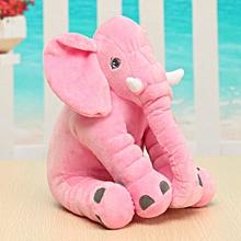 Soft Plush Lovely Long Nose Elephant Doll Sleep Pillow Baby Kids Lumbar Cushion