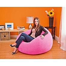 Beanless Bean Bag Chair Pink