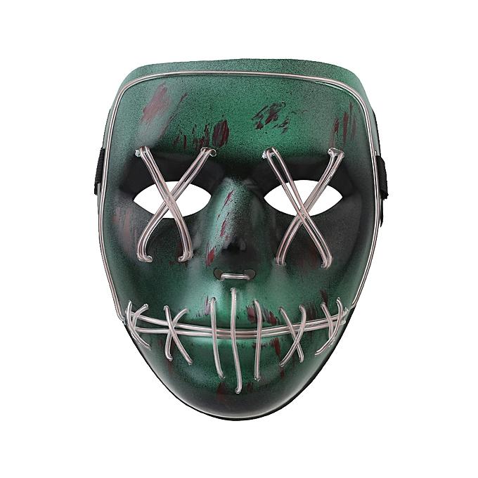 Buy Generic Horror Luminous Masks EL Wire Carnival Party Club Bar ...