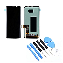 Display Screen Digitizer Assembly without Frame For Samsung S8 G950F/G950AVTP Black