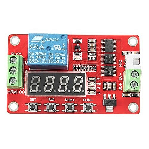 Temperature control relay module / temperature sensor module / temperature  digital display module / temperature control module 12V