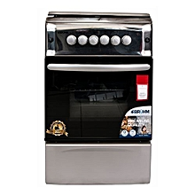 BGC 5031 NX - 50X55 - 3 Gas + 1 Hotplate - Gas Oven and Grill ? Metallic Grey